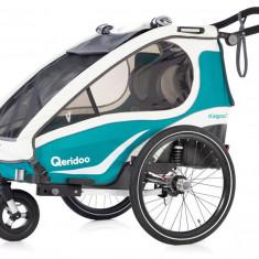 Remorca de bicicleta Qeridoo Kidgoo2, 2019, aquamarin