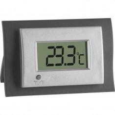 Termometru digital de camera TFA, cifre 20 mm, 68 x 45 cm