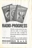 Reclamă românească 1942 aparate radio Te Ka De si Radio-Progress