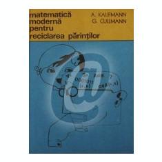 Matematica moderna pentru reciclarea parintilor
