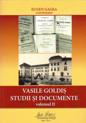 Vasile Goldiș. Studii și documente, vol. II - activitate didactică și pedagogică foto