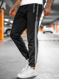 Pantaloni de trening negri Bolf JX9507