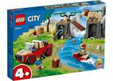 Cumpara ieftin Camion de salvare a animalelor, LEGO