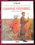 """L'HOMME INVISIBLE - 2"", Herbert George Wells. Benzi desenate in limba franceza, Alta editura, 2016"