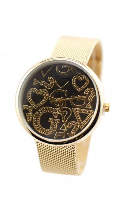 Ceas de dama elegant Geneva GOLD GV4975