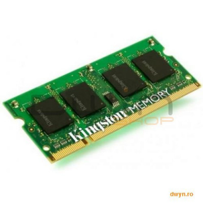 SODIMM DDR III 4GB, 1333MHz, CL9, SR x8, Kingston ValueRAM foto