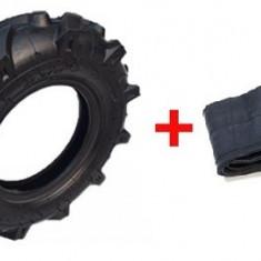 Cauciuc + Camera Motocultor 3.50-6