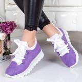 Pantofi sport Larena mov -rl