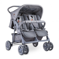 Carucior pentru Gemeni Twin, Colectia 2019 Grey Cool Cat