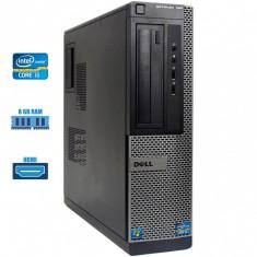 Calculator i5 2400S 3.30 GHz 8 GB DDR3 RAM 250 GB HDD DVD HDMI Dell Optiplex 390