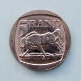 AFRICA  DE  SUD  -  5 Rand 1995  -  aUNC