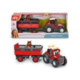 Cumpara ieftin Tractoras Cu Remorca Pentru Animale Cu Figurina Calut, Simba