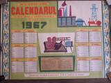 Calendar vechi romanesc 1967 RPR perioada comunista
