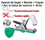 Aparat de legat via + banda + capse + lama si arc de rezerva = 59 lei