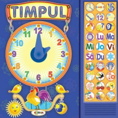 Carte Cu Sunete - Timpul (+ Poezii)