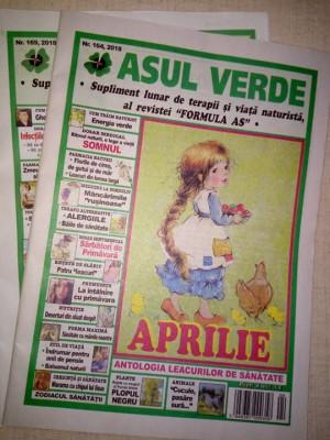 Reviste ASUL VERDE, diverse numere, 2 lei bucata foto
