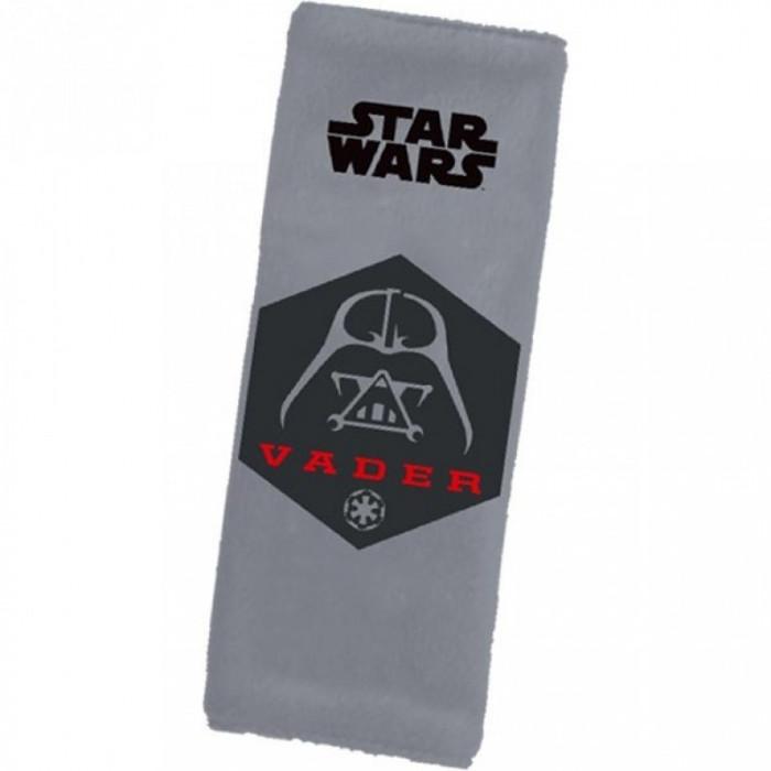 Protectie centura de siguranta Star Wars Disney Eurasia, 20 x 8 cm, sistem cu scai
