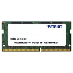 Memorie ram notebook patriot sodimm ddr4 8gb 2400mhz cl17 1.2v foto