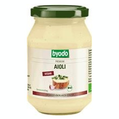 Aioli Bio Maioneza cu Usturoi Vegan Byodo 250ml Cod: 15845