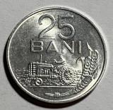 25 Bani 1982, Romania UNC, Luciu de batere