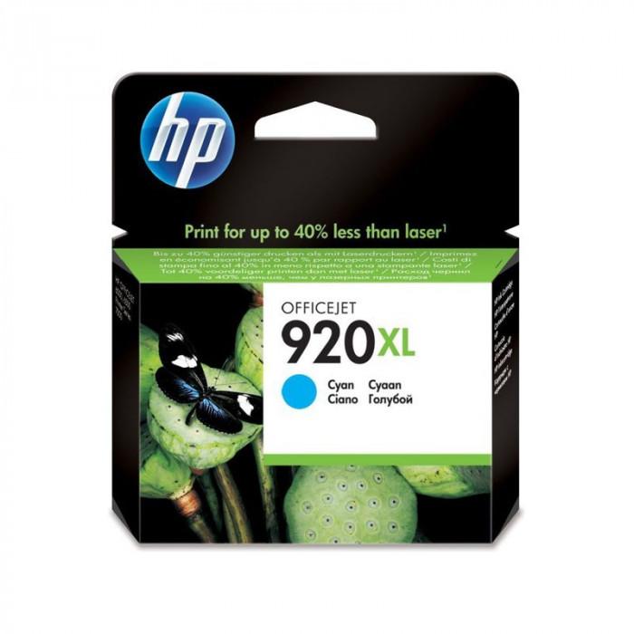 Cartus original HP920XL Cyan pentru HP CD972AE, de capacitate mare