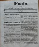 Foaia pentru minte , inima si literatura , nr. 24 , 1863 , Dieta din Ardeal