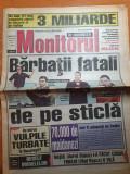 Manitorul de bucuresti 16 mai 2001-art tora vasilescu,mircea rednic,brenciu