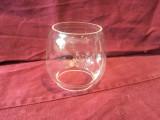 Vintage / Design - Veche sticla de felinar cu emblema Metaloglobus !