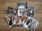Lot 10 foto vechi, Cernăuți, 1930, fam. evrei Muhldorf, ateliere Jacob Brull