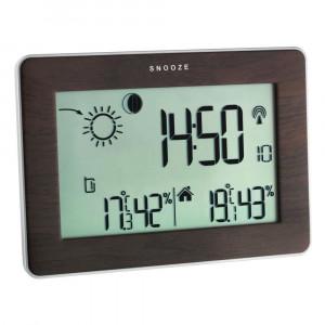Statie meteo cu transmitator wireless wood TFA 35.1128.08