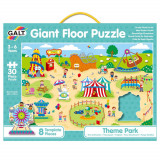Puzzle Podea: Parcul de distractii (30 piese) PlayLearn Toys, Galt