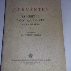 CARTE VECHE VOL.1,cervantes,iscusitul don quijote de la mancha,popescu telega,44