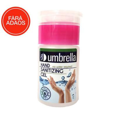 Gel de Igienizant cu Pompita pentru maini, Umbrella, 75ml, cu Alcool, Antibacterian foto