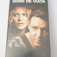 Caseta video VHS originala film tradus Ro - Semn de Viata