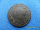 10 BANI 1867/WATT&COMP/PATINA PROF