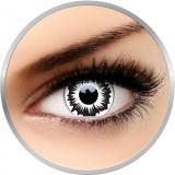 Crazy North Star- lentile de contact colorate negre anuale - 360 purtari (2 lentile/cutie)