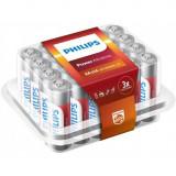 Pachet de 24 - AAA R3 Philips Power Alkaline Conținutul pachetului 1x Blister