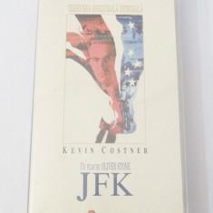 Caseta video VHS originala film tradus Ro - JFK