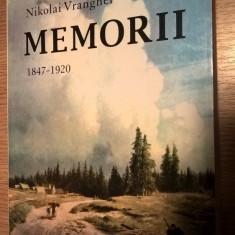 baron Nikolai Vranghel - Memorii 1847-1920 (Editura Fides, 2001)
