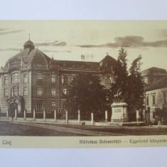 Carte postala Cluj Napoca,necirculata 1929, Circulata, Printata
