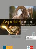 Cumpara ieftin Aspekte junior Arbeitsbuch B1+ mit Audio