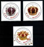 Romania 2013, LP 1970, Coroanele Regilor, seria, MNH! LP 26,50 lei, Regi, Nestampilat
