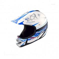 Casca cross/atv copii MadHead X2B marimea M culoare alb/albastru Cod Produs: MX_NEW 20494903LO
