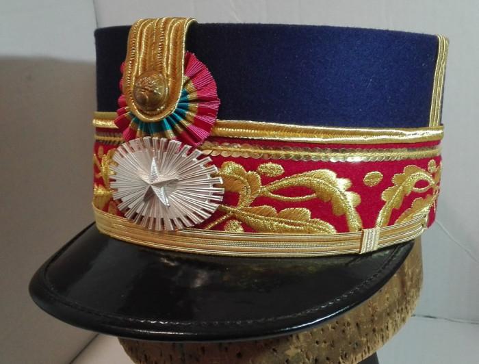 Chipiu (cascheta, sapca) general de brigada, perioada interbelica model Carol II