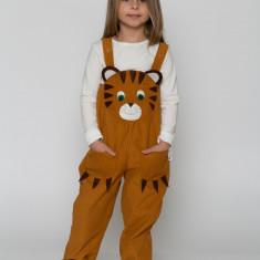 Salopetă urs unisex fete/baieți  costum serbare/spectacol Martinel, 1-2 ani, 2-3 ani, 3-4 ani, 4-5 ani, 5-6 ani, 6-7 ani, 7-8 ani, 8-9 ani, 9-10 ani, Din imagine
