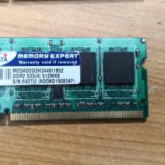 Ram Laptop AData 512MB DDR2 533MHz M20AD2G3H3446I1B52