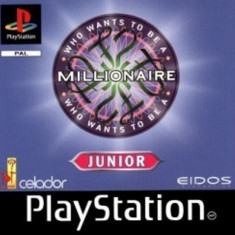 Joc PS1 Who wants to be a millionaire Junior