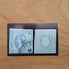 State vechi italiene, lot de doua timbre, Stampilat