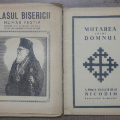 Glasul Bisericii// lot 2 volume dedicate Patriarhului Nicodim