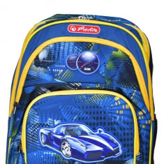 Rucsac scoala Herlitz Bobby motiv Race Car